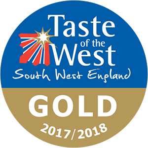 Taste of the west award 2017-2018 Gold